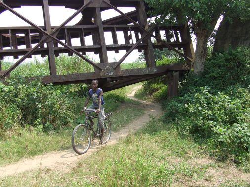 Ruines d'un pont